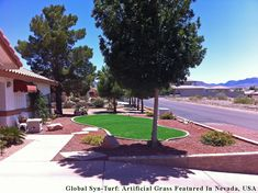 GST, Inc. would love for you to see a beautiful front yard in Las Vegas, Nevada