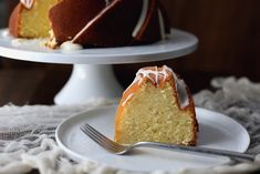 Lemon-lovers will go wild over this outrageously moist bundt cake.