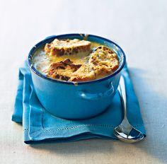 Soupe gratinée à l'oignon 20 Min, Macaroni And Cheese, Biscuits, Pudding, Marie Claire, Ethnic Recipes, Desserts, Tour, France