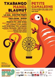 Petits Camaleons – Festival de música per a nens i nenes (Sant Cugat)