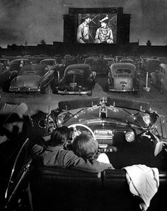 Drive in Theater from way back in the day!
