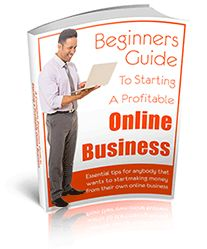 Cool free book! Beginners Guide to Starting a Profitable Online Business - Essential tips for anybody that wants to start making money from their own online business.