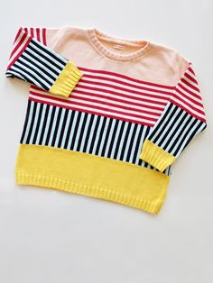 Annie Larson knit: really cute sweater