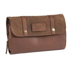 FFF Leather & Canvas - Washbag