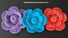 Video tutorial- Crochet flower