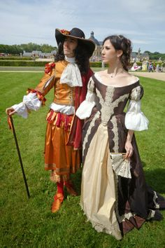 Time of elegance, 17th c costume