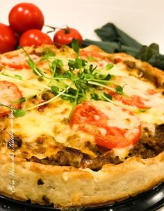 Cheesesteak, Quiche, Food And Drink, Pizza, Cooking, Breakfast, Ethnic Recipes, Corner, Kitchen