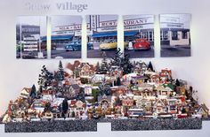Department 56: COLLECTING - Snow Village.  This is a hobby I shared with my mom.  She collected the houses and I collected the shops.  We bought the first piece in 1978.  We have over 500 pieces in our collection.  About half of the collection is displayed year round in curio cabinets at my house.