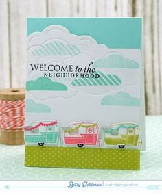Petite Places: Happy Camper Mini Stamp Set: Papertreyink