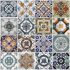 Apply this Portuguese Tiles Azulejos in any flat surface. If you are looking for a piece of art, Portuguese Tiles Azulejos is the perfect choice. Tile Decals, Wall Tiles, Wall Decal, Backsplash Tile, Vinyl Tiles, Mediterranean Tile, Stair Stickers, Wall Stickers, Traditional Tile
