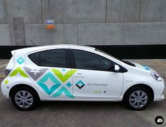 Fleet Graphics, VCS Pathology, Toyota Prius, Vehicle Decals, Fleet Advertising