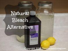 #Natural Bleach Alternative