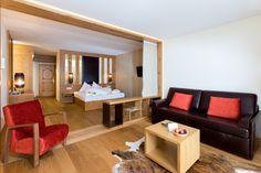 Ambiente-Suite im Hotel Feldhof in Naturns