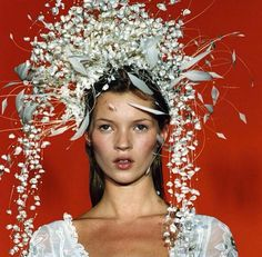 Kate Moss—Headgear: A vfile by Fan VFILES: Connect, discover, collaborate, and be part of what's next. Kate Moss, Beauty Photography, Fashion Photography, Editorial Photography, Moss Fashion, High Fashion, Women's Fashion, Queen Kate, 90s Models