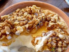 Greek Yogurt with Honey and Walnuts - Agreco Farm, Crete by uncorneredmarket, via Flickr