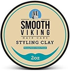 Hair Clay for Men - Best Pliable Molding Cream with Strong Hold & Matte Finish - Product for Modern Hairstyles- 2 OZ - Smooth Viking: Health & Personal Care Side Part Hairstyles, Greasy Hair Hairstyles, Cool Hairstyles For Men, Modern Hairstyles, Cool Haircuts, Haircuts For Men, Men's Hairstyles, Short Haircuts, Classic Hairstyles