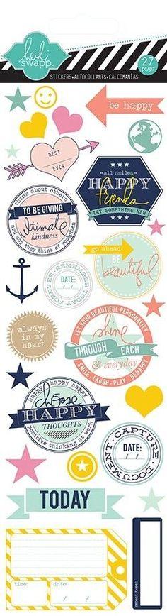 Heidi Swapp Stickers Mixed Themes | eBay
