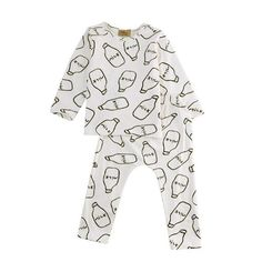 25be8f6352a6 Newborn Infant Baby Boys Girls Autumn Winter Long Sleeve Milk Tops T-shirt Pants  Outfits Sleepsuit Clothes New