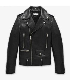 Men's Lamb Nappa Biker Leather Jacket