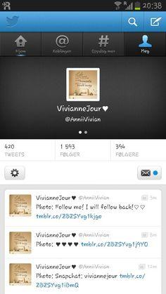 Follow me on #twitter !♡