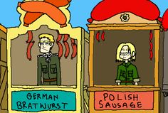 tumblr_mdwocdzzwy1rzl82po1_500.gif (458×310) Ah, WW2 started with Germany being a bit too competitive about his wurst business. Seriously, watch this gif...<<<<Hey look Germany invaded Poland again