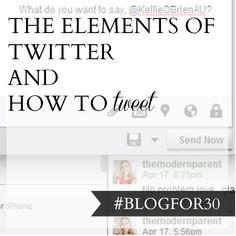 30. of #Blogfor30: The elements of Twitter and how to tweet Twitter Header Image, 30 Day, 30th, Challenge, Blog, Blogging