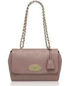 3fdb4a6b4f2b Mulberry Dark Blush Glossy Goat Medium Lily Bag Mulberry Lilly