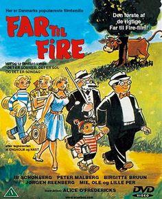 Far til Fire - Filmene