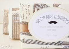 Jabones envueltos con papel italiano