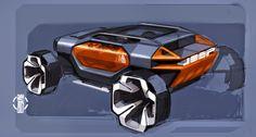 Akos Szaz 13er BLOG Future Trucks, Future Car, Jeep Concept, Concept Cars, Car Design Sketch, Car Sketch, Car Chair, Metal Art Projects, Luxury Suv