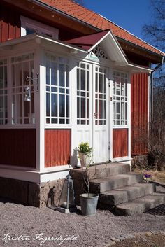 I mitt paradis Swedish House, Feng Shui, House Tours, Sweet Home, Shed, Outdoor Structures, Outdoor Decor, Space, Home Decor
