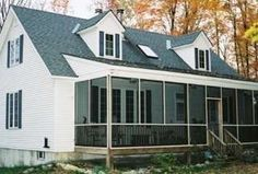 cape cod screened porch - Google Search