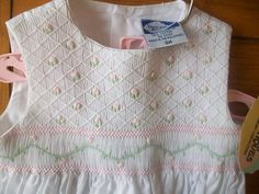 NEW Vintage Carriage Boutiques Infant Girl white by LittleMarin