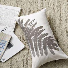Botanical pillow