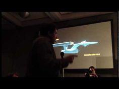 Neil deGrasse Tyson at the Starship Smackdown, Comic-Con 2012 // Neil deGrasse Tyson Explains Why the Original Star Trek's Enterprise is the Best. Starship. Ever.