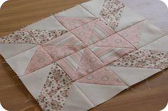 pinwheel sampler quilt along: block five.