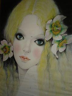 """Blonde Girl"" by Mira Fujita"