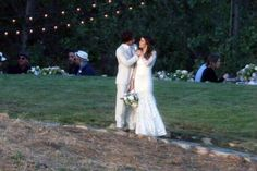 April 2015 - Ian Somerhalder and Nikki Reed Are Married! The Twilight alum, married the Vampire Diaries star, Sunday in Malibu, California, PEOPLE has confirmed. Ian Somerhalder Married, Ian Somerhalder Wedding, Ian Somerhalder Nikki Reed, Lacy Wedding Dresses, Wedding Dresses Photos, Gorgeous Wedding Dress, Wedding Pictures, Lace Wedding, Wedding 2015
