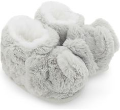 The Little White Company Kimbo fluffy slipper boots 0-24 months #ad