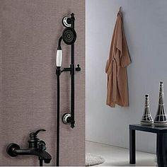 Bruser vandhane olie gnides bronze vægbeslag håndholdt