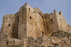 Masyaf Castle - Syria - Castles, Palaces, and Forts in Asia - http://www.dirjournal.com