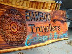 Interactive Traditional wood carving @ Travellers Beach in Nadi.