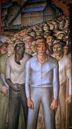 1933 ... Coit Tower - SF murals- WPA artist- John Langley Howard