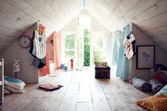 Cool attic spaces kids attic bedroom design ideas kids attic bedroom design ideas video and photos . Attic Bedroom Kids, Attic Bedroom Designs, Attic Bedrooms, Attic Playroom, Attic Library, Attic Design, Attic Bathroom, Bedroom Decor, Attic Renovation
