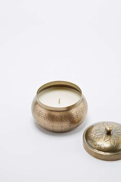 Moroccan Tin Candle