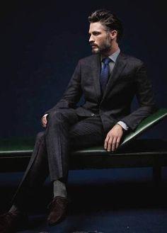 Ben Hill Male Model, Men's Fashion, Beard, Shirtless, Eye Candy, Handsome, Good Looking, Pretty, Beautiful, Sexy 男性モデル メンズファッション