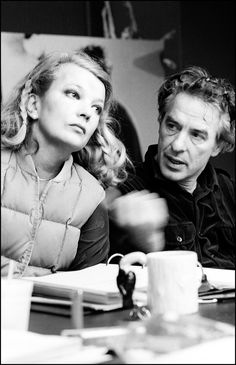 The Cassavetes Project - Gena Rowlands and John Cassavetes. Photo by Steve Reisch Hollywood Couples, Vintage Hollywood, Classic Hollywood, Gena Rowlands, John Cassavetes, Photography Exhibition, Famous Couples, Independent Films, The Godfather