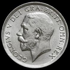 1916 George V Silver Shilling – EF