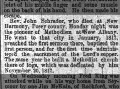Rev. John Schrader.