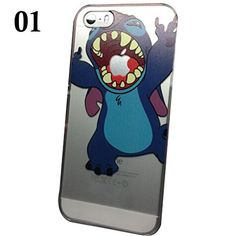 SAKO for iPhone 5C Disney Cartoon Lilo and Stitch Playing/ Grabbing Apple logo Cute Clear Case Cover for Iphone 5C Xmas Gift (Stitch01 for 5C) SAKO http://www.amazon.com/dp/B00LO91TB0/ref=cm_sw_r_pi_dp_nC.8tb1RFRFE8